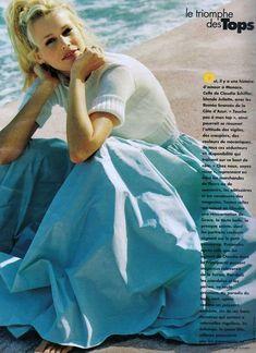 Elle 1994 Claudia Schiffer