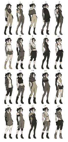 44 New Ideas For Drawing Clothes Outfits Character Design Source by clothes ideas design reference Character Creation, Character Concept, Character Art, Concept Art, Character Reference, Character Poses, Drawing Tips, Drawing Reference, Drawing Ideas