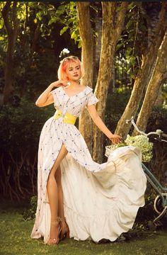 Amazing summer maxi dress 💕 Fishtail Dress, Maxi Gowns, Summer Maxi, Pencil Dress, Black Tie, Mother Of The Bride, Summer Wedding, Wedding Styles, Bridesmaid