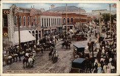 1922 Street Scene Frontier Days Cheyenne Wyoming