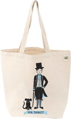 Mr. Darcy tote bag.