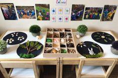 Photo Wall, Colours, Frame, Kids, Play Dough, Montessori, Home Decor, Cat, Picture Frame
