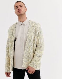 Buy ASOS DESIGN heavyweight cardigan in textured oatmeal slub yarn at ASOS. With free delivery and return options (Ts&Cs apply), online shopping has never been so easy. Get the latest trends with ASOS now. Asos, Must Haves, Oatmeal, Latest Trends, Sweaters, Stuff To Buy, Shopping, Design, Fashion