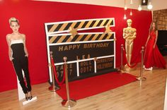 Hollywood. Birthday. Glam. Famous. Celebrity. Hollywood Cupcakes.Hollywood Cakepops. Gold Star. Film Roll. Red Carpet. Fake Paparazzi. Wall of Fame. Hollywood Booth. Hollywood Cake. Oscar. Award.