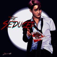 The Seducer EXO Mafia AU Series 4/9 Xiumin, Suho, Lay, Baekhyun, Chen, Chanyeol, Kyungsoo, Kai, Sehun (Click here for the full size) Again thank you @creepybaekkie for the name and the idea!