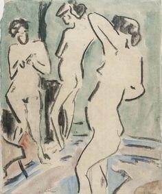 """anne-sophie-tschiegg: """" Ernst Ludwig Kirchner """""""