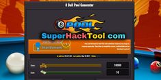 8 Ball Pool Generator Hack is an online Generator that will help you to generate Cash money and Coins on your mobile devices iOS or Android! Code Android, Pool Coins, Pool Hacks, App Hack, Game Resources, Hack Online, Mobile Game, Free Games, Cheating