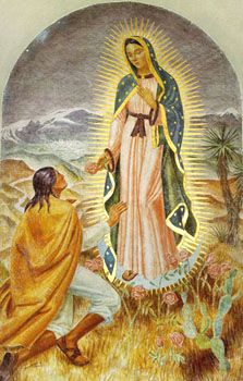 Our Lady appears to Juan Diego
