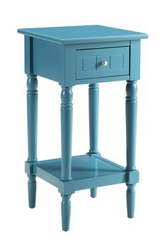 Purchase French Country Khloe Accent Table from Benzara Inc on OpenSky. Small Bedroom Vanity, Small Bedroom Furniture, Accent Furniture, Modern Bedroom, Small Bedrooms, Furniture Ideas, Bedroom Ideas, White Accent Table, Accent Tables