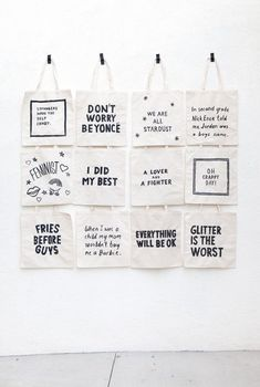 I hosted some friends in Palm Springs for my birthday this year and I wanted to put together a little gift bag for guests. We ended up making these tote bags that came together really easily last minu
