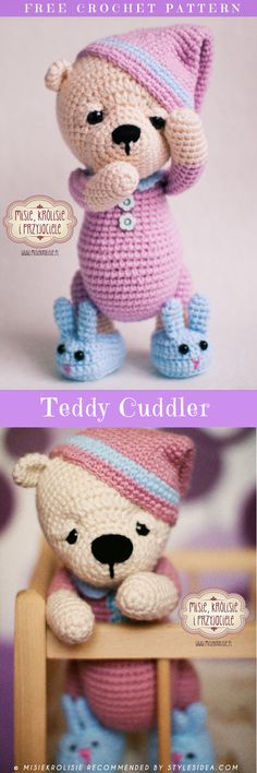 The Best of Amigurumi Free Patterns #freecrochetpatterns #amigurumiteddy
