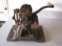 ANTIQUE T MILLS BROS PHILA. PA.TAFFY CANDY CUTTER 1890s (12/02/2007)