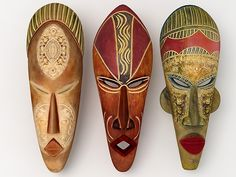 African masks are arguably the most recognised artefacts or craft items from the African continent. They will feature in many museums, art galleries and also craft for sale. The masks hold a very special place in African cultures.