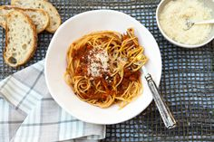 """Italian Food Forever » Pasta with Hearty Vegetable """"Bolognese"""""""