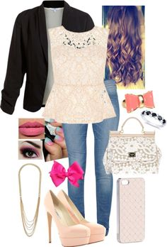 """""""Untitled #500"""" by dominique1316 ❤ liked on Polyvore"""