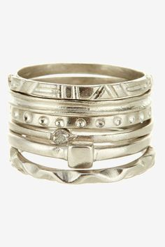 Marcia Moran Assorted Ring Stack
