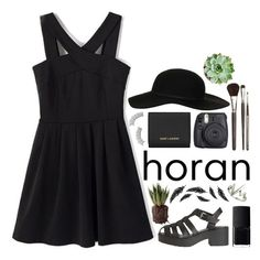 i see the shadows long beneath the mountain top ♕ by dressed-like-a-daydream on Polyvore featuring polyvore fashion style Yves Saint Laurent Topshop Louise Young Cosmetics NARS Cosmetics Fuji lucluc oohsponsorship
