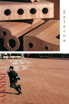 EXTERNA E' un sistema di elementi componibili in cotto dedicata alla grande tradizione della piazza italiana intesa oltre che come spazio architettonico,  ....... http://www.sannini.it/news-single-005.htm  Externa is a system of modular terracotta elements dedicated to the great tradition of the Italian piazza, ....  http://www.sannini.it/news-single-005-en.html