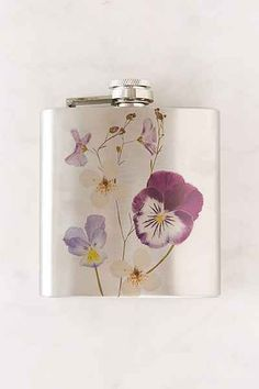 Pressed Flower Flask - Urban Outfitters