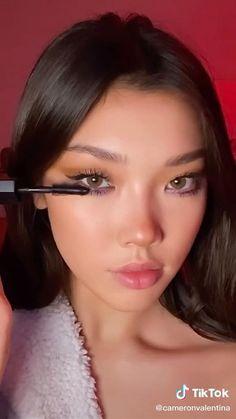 Cute Makeup Hacks, Makeup Tips, Beauty Makeup, Nude Makeup, Skin Makeup, Makeup Looks Tutorial, Makeup Makeover, Makeup Eye Looks, Bedroom Eyes