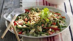 Rezept: Grüne Bohnen-Krabben-Salat