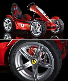 This looks very familiar :)  Toy and Tech Category Product Development  Ferrari  | FXX Pedal Car Almost As Awesome As The Real Thing