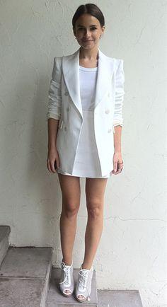 PERSONAL BLOG @bon appetit : Miroslava Duma all white