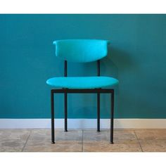 Set of six Dutch Alpha Chairs Designed by Rudolf Wolf, 1960's