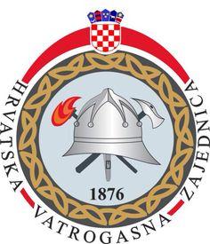 Croatian firefighting association crest