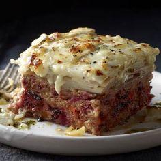 Rachael Ray: Meatloaf & Potato Pileup