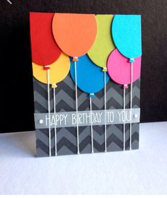 Handmade birthday card ideas with tips and instructions to make Birthday cards yourself. If you enjoy making cards and collecting card making tips, then you'll love these DIY birthday cards! Homemade Birthday Cards, Homemade Cards, Happy Birthday Card Diy, Birthday Cards For Kids, Funny Birthday, Handmade Birthday Gifts, Birthday Card Making, Card Ideas Birthday, Birthday Crafts