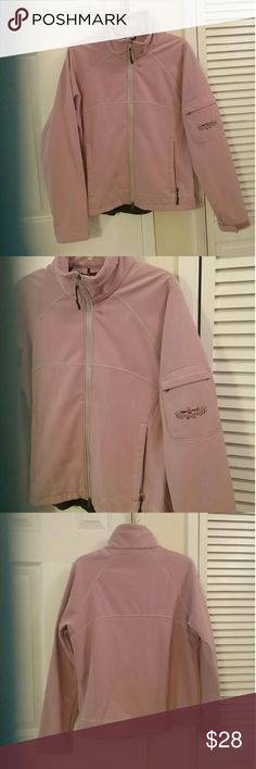 Kemper brand Women's/ Junior's Jacket Like New worn once. Pink Kemper jacket with black fleece lining. Perfect for a Skiing, chilly evening & sporting events! Very cute, sporty & stylish. Kemper  Jackets & Coats Utility Jackets