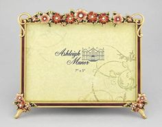ashleigh manor picture frame bouquet purple 4x6 2400