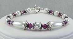 Birthstone Bracelet - Might do something like this for next jewelry show in various birth months.