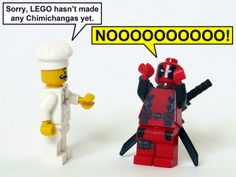 this is what happens when deadpool turns lego Lego Marvel, Lego Deadpool, Deadpool Funny, Marvel Comics, Lego Humor, Lego Memes, Lego Pictures, Chimichanga, Spideypool