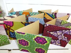 RESERVED FOR AMEIGH African wax print Wedding invites x 60 Party invitations via Etsy