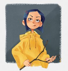 """""""exploring an old style with Coraline"""""""