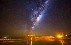 Castle Point Night (MichaelJordanoff / Wellington / New Zealand) #Canon EOS 6D #landscape #photo #nature