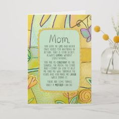 Trying to find a unique Mother's Day card can be a challenge. We have put together this collection to help you find that special card for Mom.