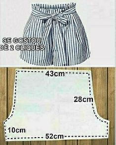 Baby Clothes Patterns, Dress Sewing Patterns, Clothing Patterns, Sewing Shorts, Sewing Clothes, Doll Clothes, Kids Boxing, Dress Cuts, Diy Dress