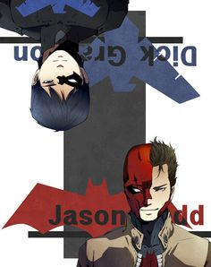 Redhood and Nightwing by ichiless.deviantart.com on @deviantART