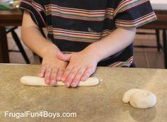 Salt Dough Snake Craft
