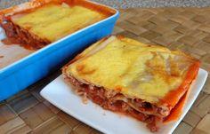 Régime Dukan (recette minceur) : Lasagnes à la bolognaise faciles et protéinées #dukan www.dukanaute.com...
