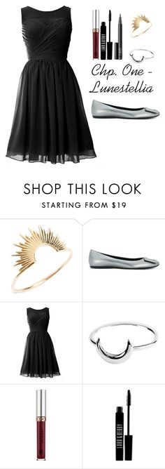"""""""Chapter One - Lunestellia - Part Two"""" by wynterice on Polyvore featuring Sarah & Sebastian, Roger Vivier, Midsummer Star, Anastasia Beverly Hills, Lord & Berry and NARS Cosmetics"""
