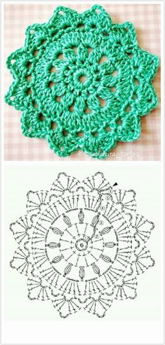 Crochet Snowflake Pattern, Crochet Motif Patterns, Crochet Blocks, Crochet Mandala, Crochet Chart, Crochet Designs, Crochet Tablecloth, Crochet Doilies, Crochet Flowers