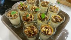 Vanilkový krém s orechmi v karameli   Varený-pečený Tiramisu, Beans, Pudding, Vegetables, Cakes, Cake Makers, Custard Pudding, Kuchen, Puddings