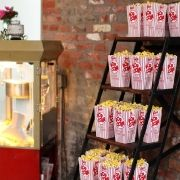 Popcorn stand for the kiddos