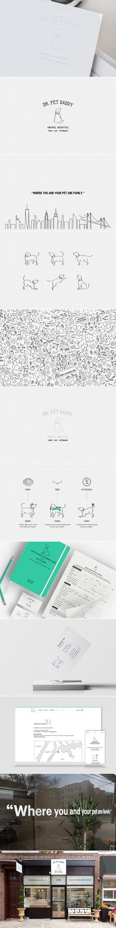 [ Dr. Pet Daddy ] [ Credit: Hyun Sul ] [ Graphic Design, Identity Design, Logo Design, Package Design, Editorial Design, Art Direction, Branding, Web Design, Photography, Interior Design, Illustration, Drawing ]