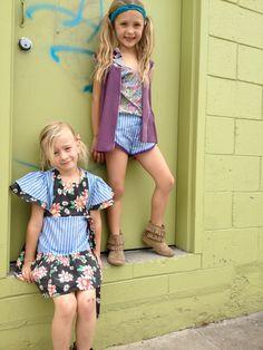 Girls 1980's Inspired Shorts by Blinnea on Etsy, $14.00