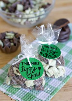 Thin Mint Puppy Chow/Muddy Buddies!